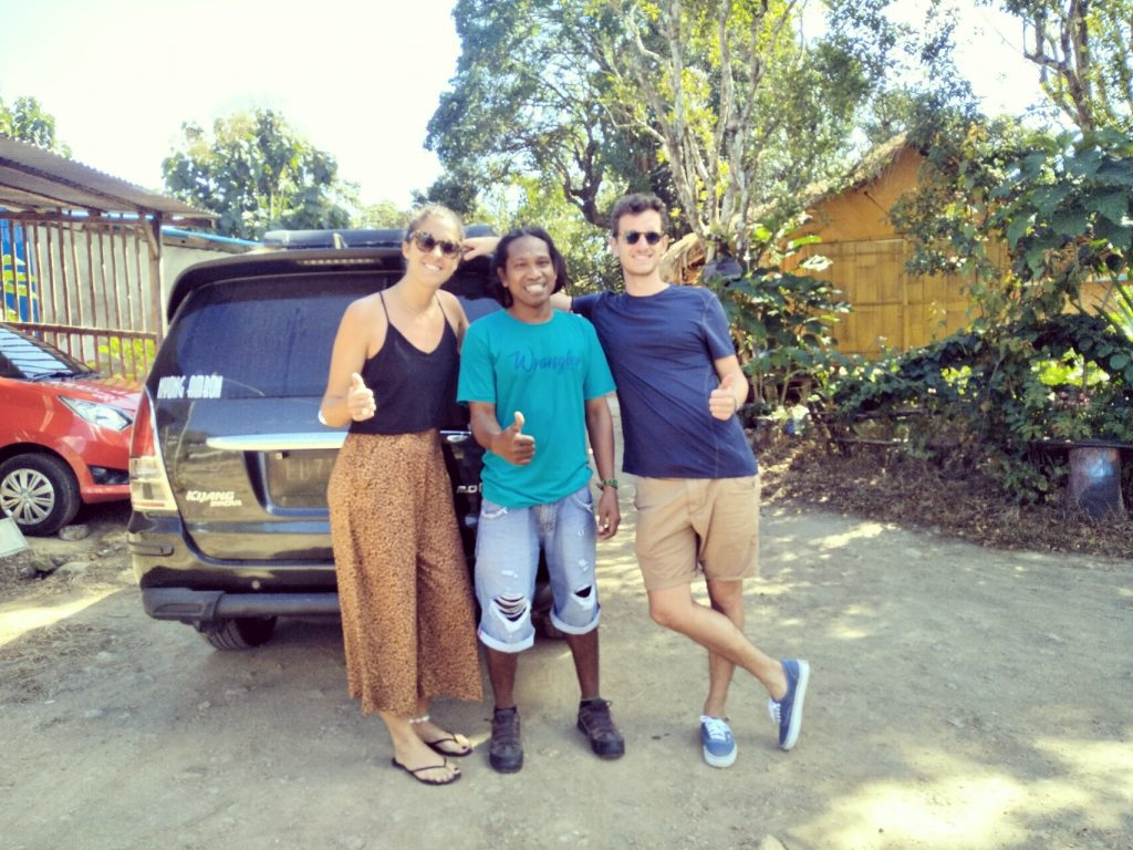 Mr. Baptiste Turrel and Miss. Laure De Launay from France in Come to Flores Overland Trip,  2D/1N, 2019.